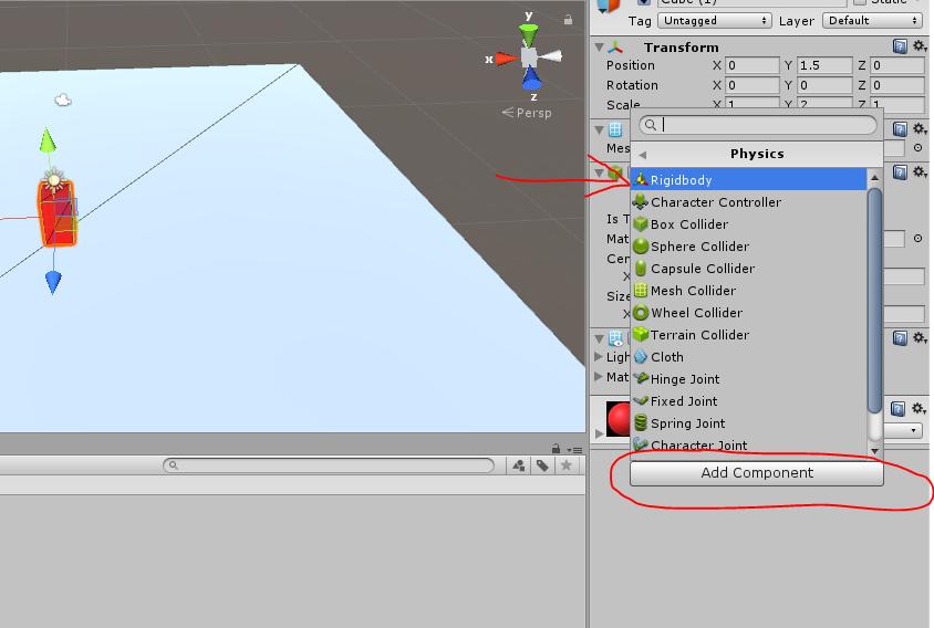 Unity 3D Enis Necipoğlu Rigidbody component
