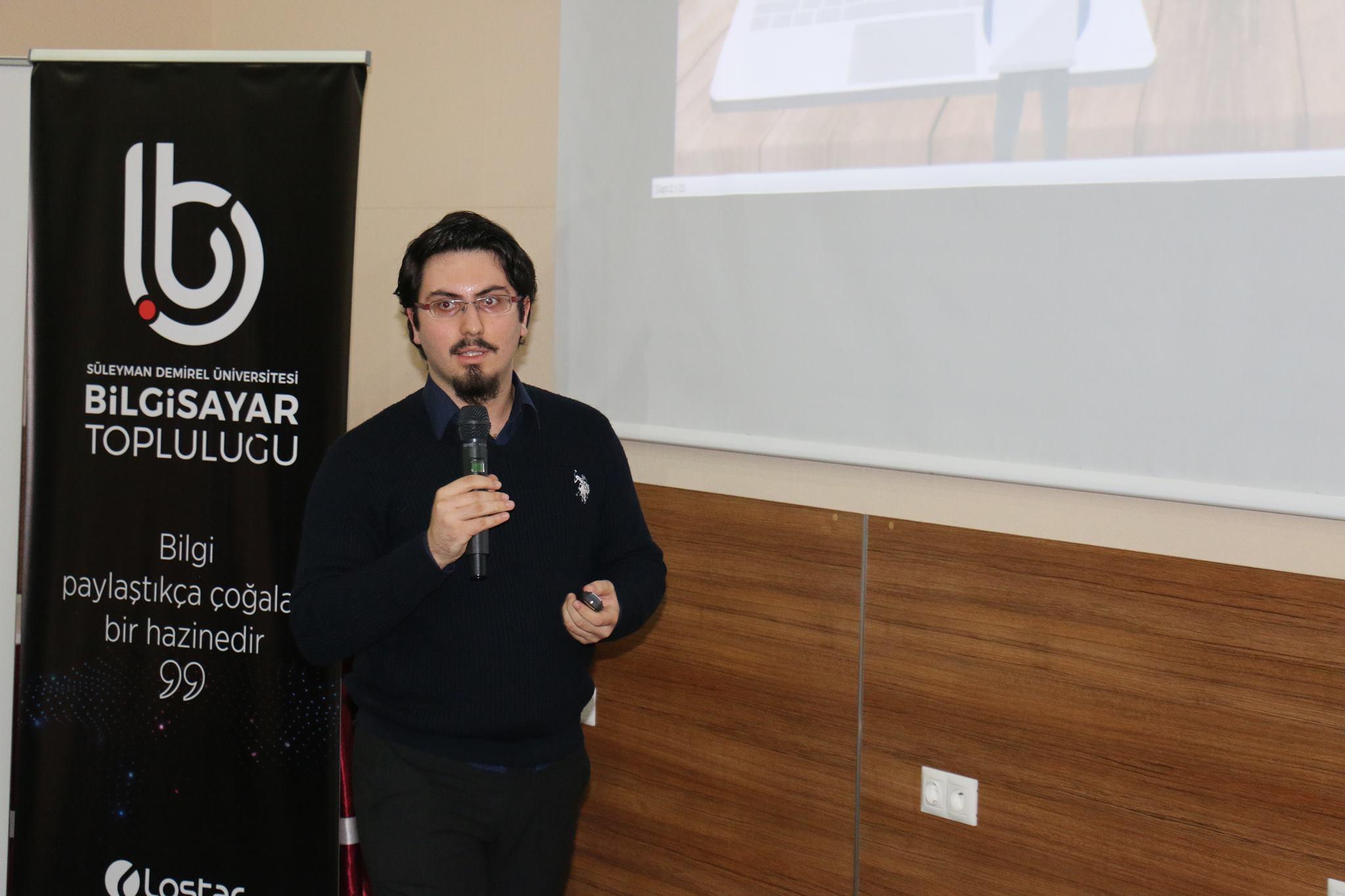 Enis Necipoğlu Süleyman Demirel Üniversitesi Unity ile Oyun Geliştirme