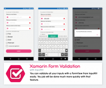 Validation on Xamarin Forms